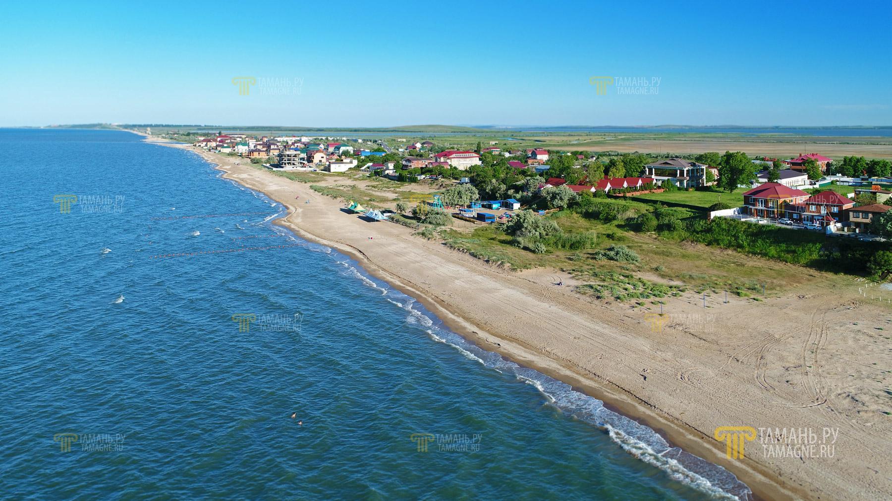 Тамань фото поселка и пляжей